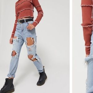 UO RIPPED JEANS